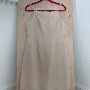 Ann Taylor Cream Colored Dress Size 8